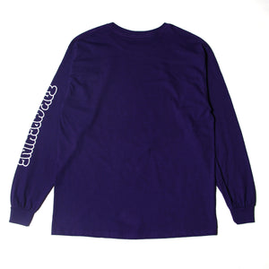 MOUSEKATER LONG TEE - PURPLE