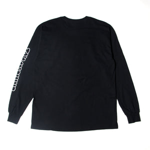 MOUSEKATER LONG TEE - BLACK