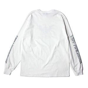 WINGED SECT LONG TEE - WHITE
