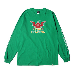 WINGED SECT LONG TEE - GREEN