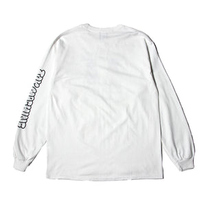 MOUSEKATER LONG TEE - WHITE