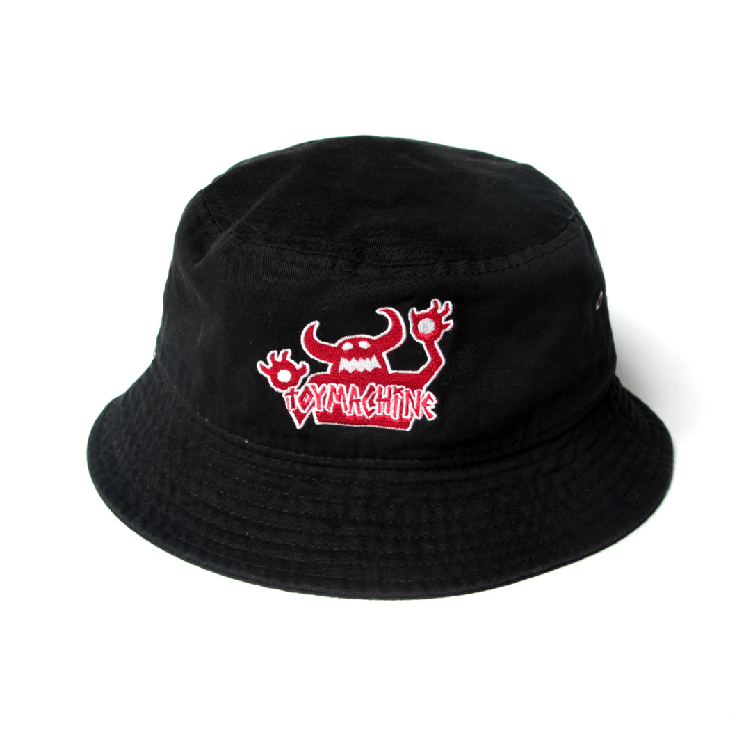 ORIGINAL MONSTER BUCKET HAT - BLACK