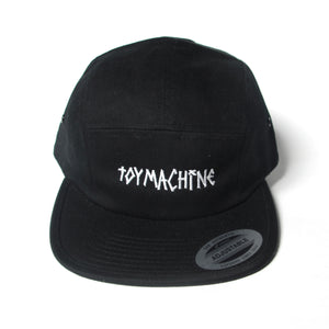 TAPELOGO JOCKEY CAP - BLACK