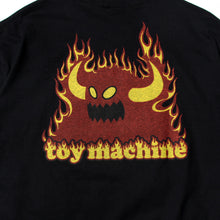 TOYMONSTER FLAME LOGO SST - BLACK