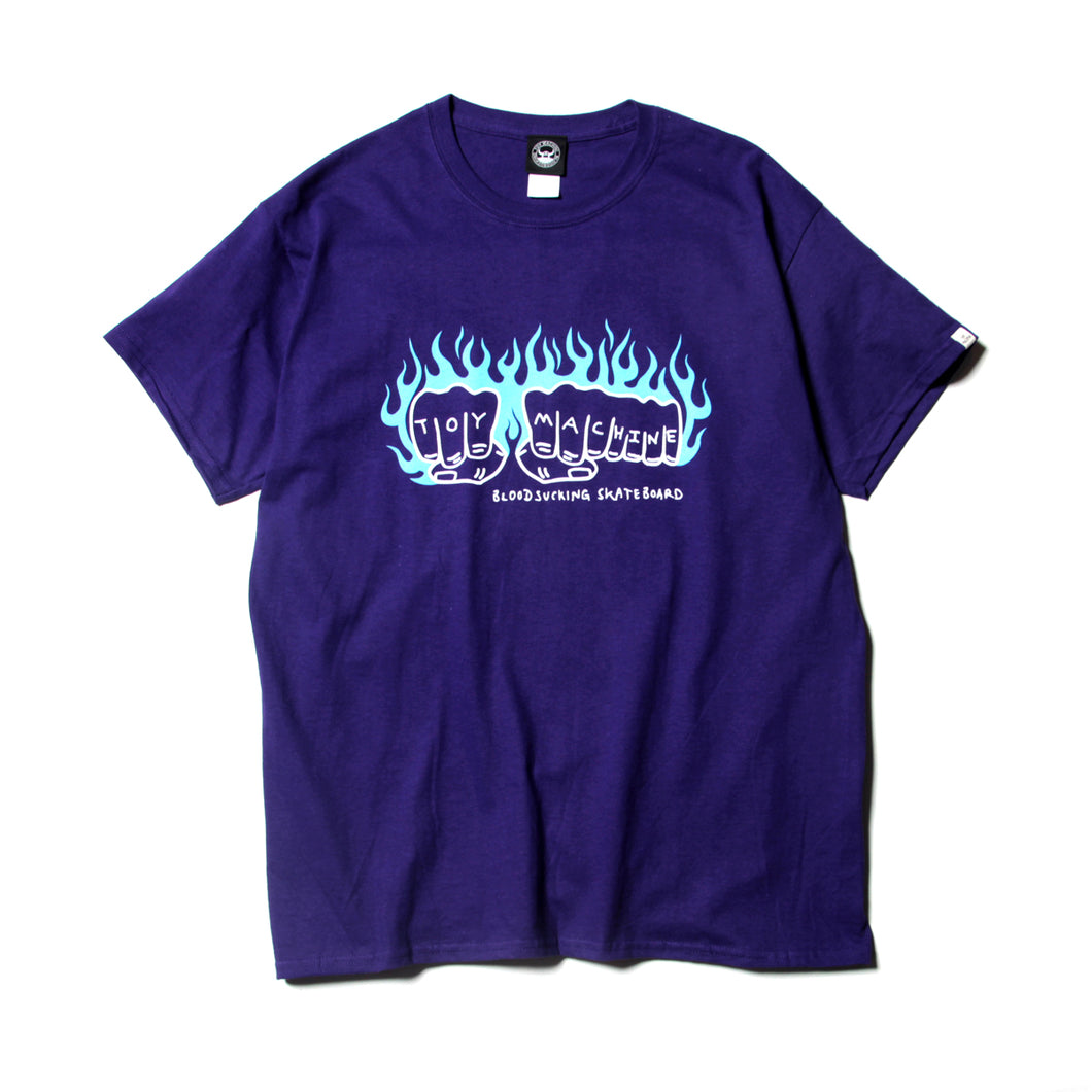 FIST FLAME LOGO SST - PURPLE