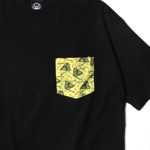 PRINT POCKET SST (BIG SIZE) - BLACK