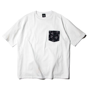 PRINT POCKET SST (BIG SIZE) - WHITE