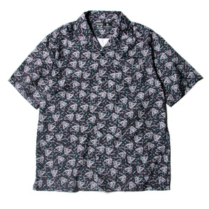 PYRAMID SECT PRINT SS SHIRT - BLACK