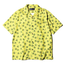 PYRAMID SECT PRINT SS SHIRT - YELLOW