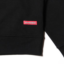TOYMACHINE LOGO CREW SWEAT - BLACK