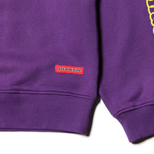 TOYMACHINE LOGO CREW SWEAT - PURPLE