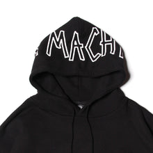BRAINWASH MESH POCKET PARKA - BLACK