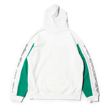 SKETCHY MONSTER SWEAT PARKA - WHITE