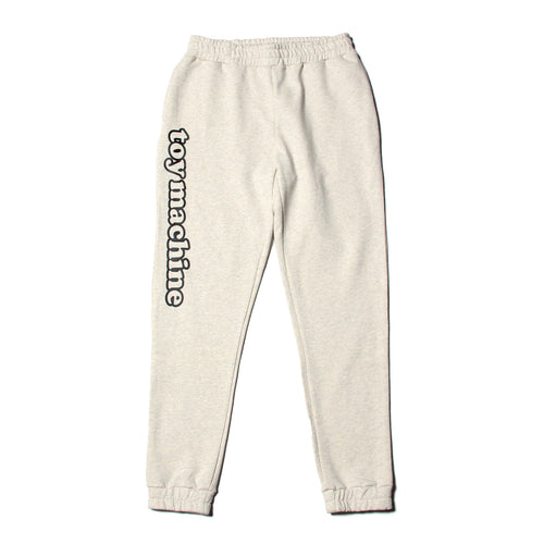 TOYMACHINE LOGO SWEAT PANTS - ASH GRAY