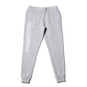 TOYMACHINE LOGO SWEAT PANTS - GRAY
