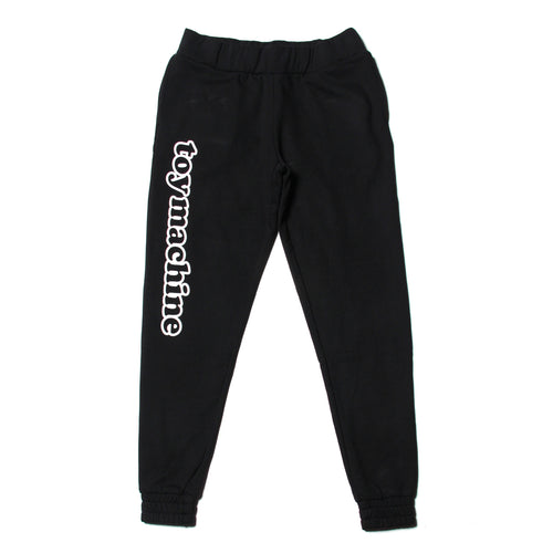 TOYMACHINE LOGO SWEAT PANTS - BLACK