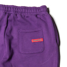 TOYMACHINE LOGO SWEAT PANTS - PURPLE