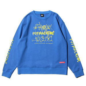 THE CREW SWEAT CREW NECK - ROYAL