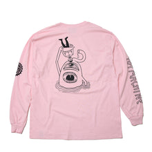PUNK DRUNKERS * TOY SECT LONG TEE - PINK