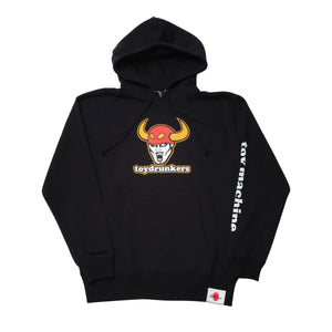 TOY DRUNKERS SWEAT PARKA - BLACK