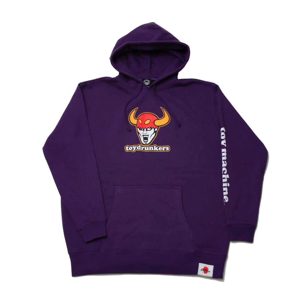 TOY DRUNKERS SWEAT PARKA - PURPLE