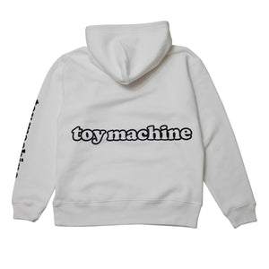 TOY DRUNKERS SWEAT PARKA - WHITE