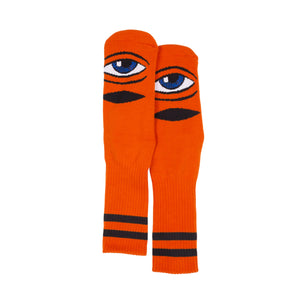 TM SECT EYE SOCK SOCKS - ORANGE