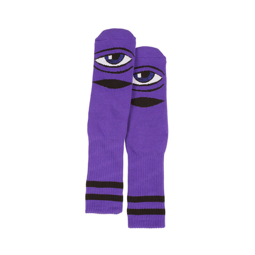 TM SECT EYE SOCK SOCKS - PURPLE