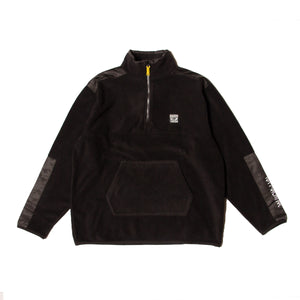 BRAIN WASH FLEECE - BLACK