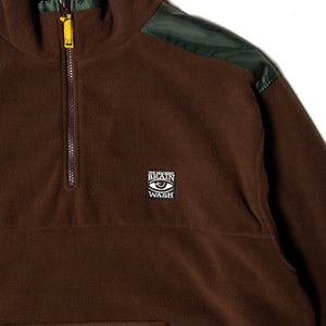 BRAIN WASH FLEECE - BROWN