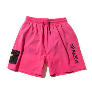 STRETCH POCKET SHORT PANTS - PINK