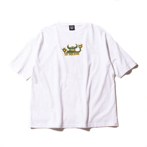 (WIDE TEE) OG MONSTER  SS TEE - WHITE