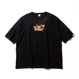 (WIDE TEE) OG MONSTER  SS TEE - BLACK