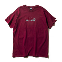 FRAME FIST GRADATION SS TEE - BURGANDY