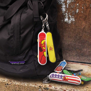 SKATEBOARD KEY HOLDER - 001