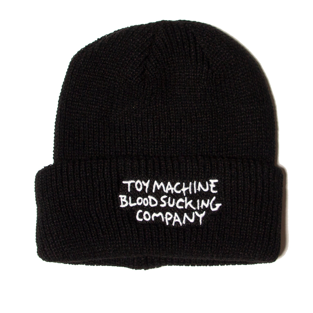 BLOOD SUCKING BEANIE - BLACK