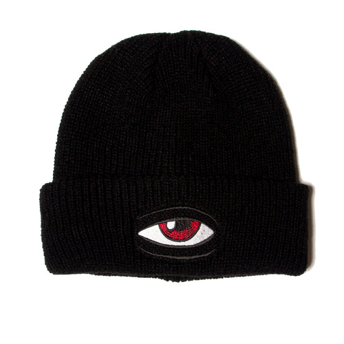 SECT EYE BEANIE - BLACK