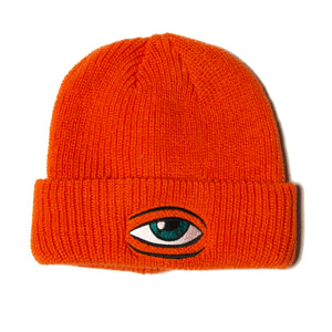SECT EYE BEANIE - ORANGE