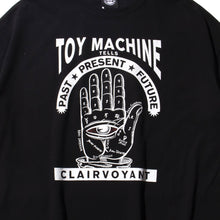 (WIDE TEE) CLAIRVOYANT SS TEE - BLACK