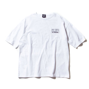 (WIDE TEE) DRUGGED EYES SS TEE - WHITE