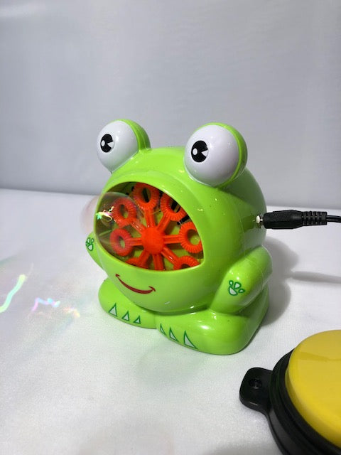 Froggie the Bubble Blower