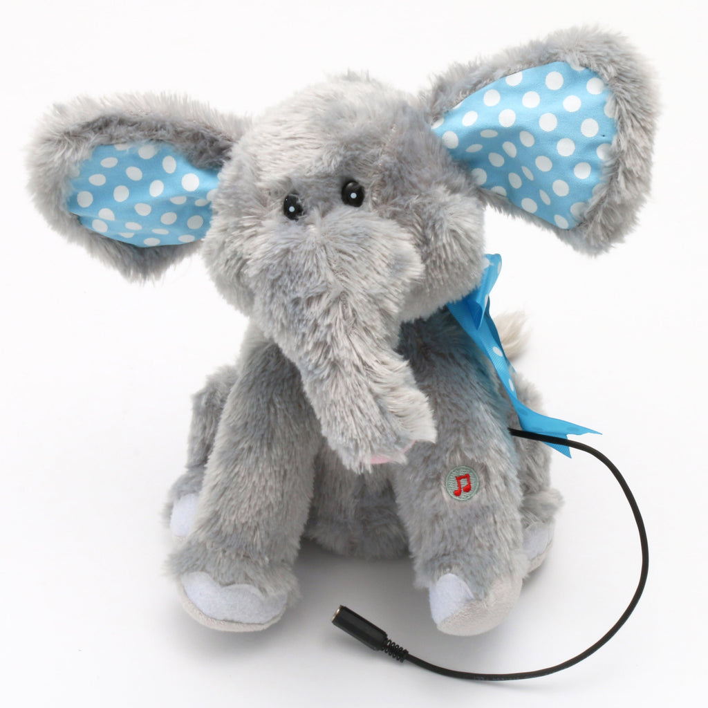 Plush Elephant Adapted Toy for Children with Disabilities