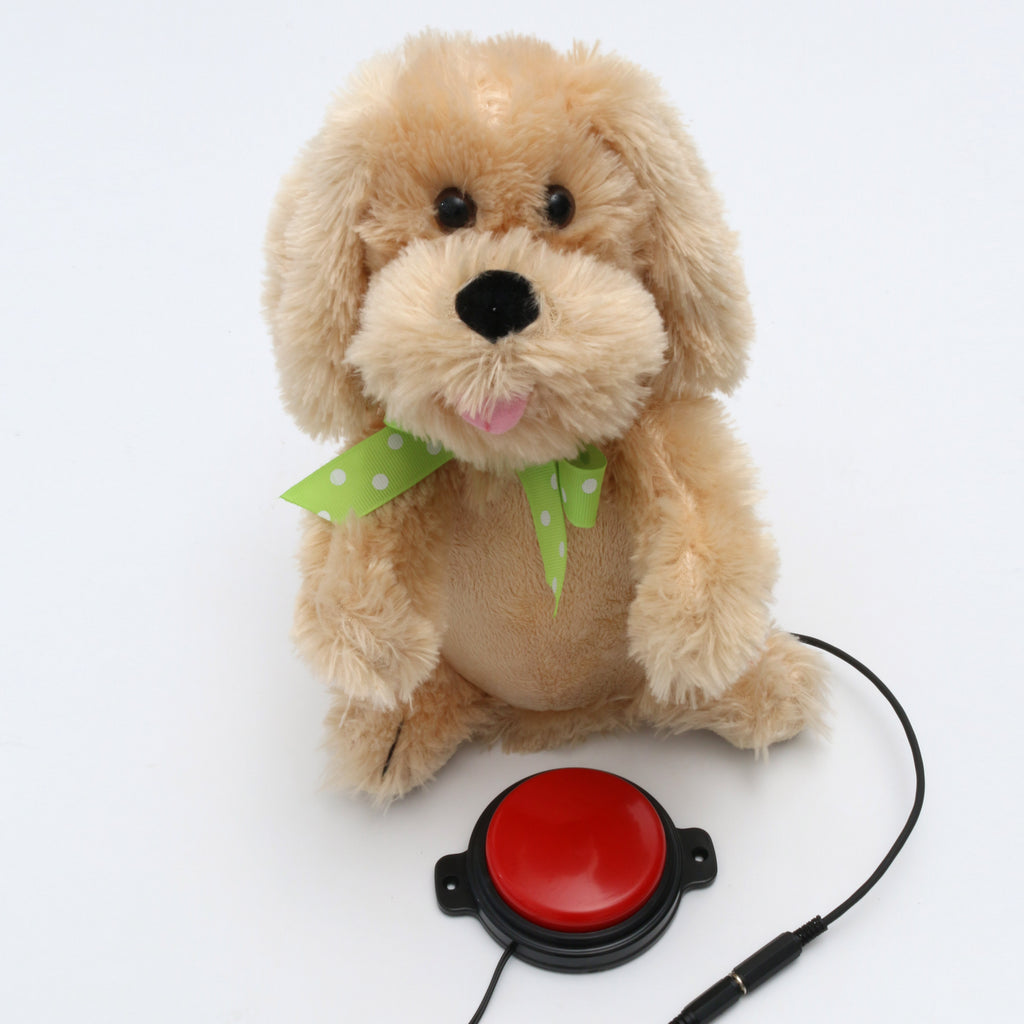 Plush Puppy Adapted Toy for Children with Disabilities