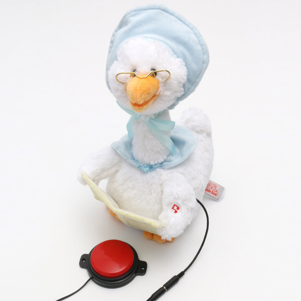 Theraputic Mother Goose Plush Animated Toy