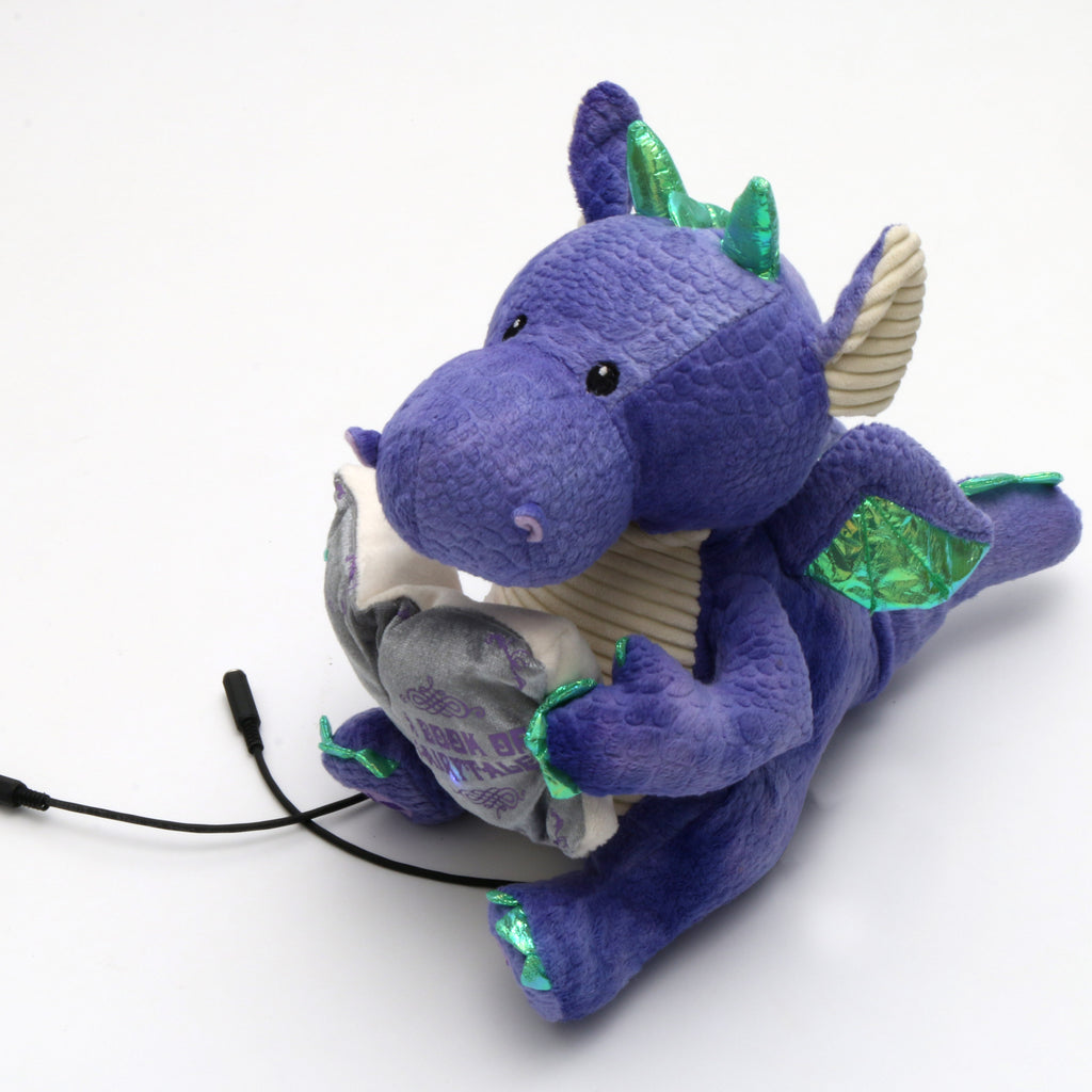 Plush Dragon Adapted Toy for Children with Disabilities