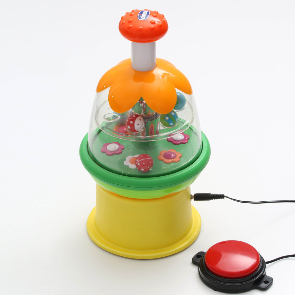 Butterfly Spinner Switch Adapted Toy for Children with Disabilities