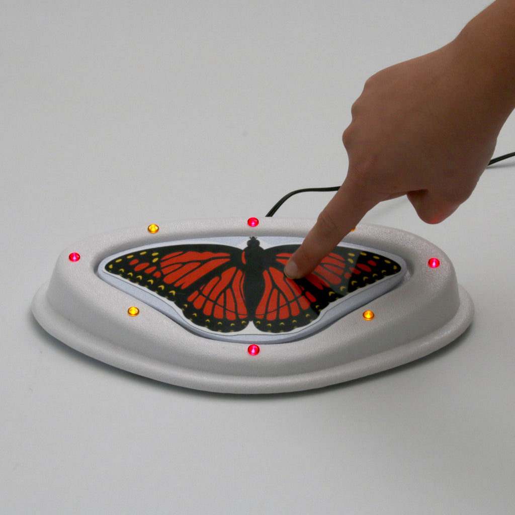 Butterfly Switch with LED lights for Adapted Devices