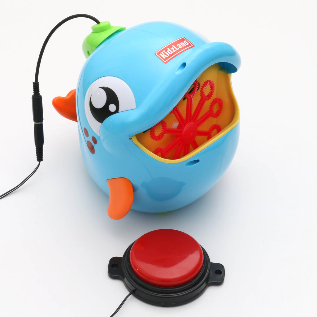 Dolphin Bubble Blower Adapted Toy for Children with Disabilities