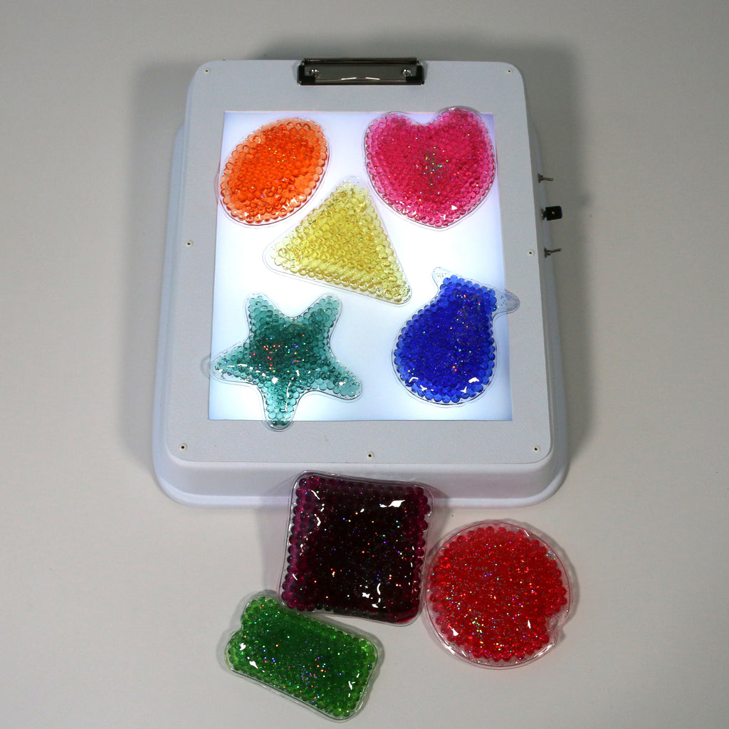Musical Light Box with Squishy Tanslucent Shapes
