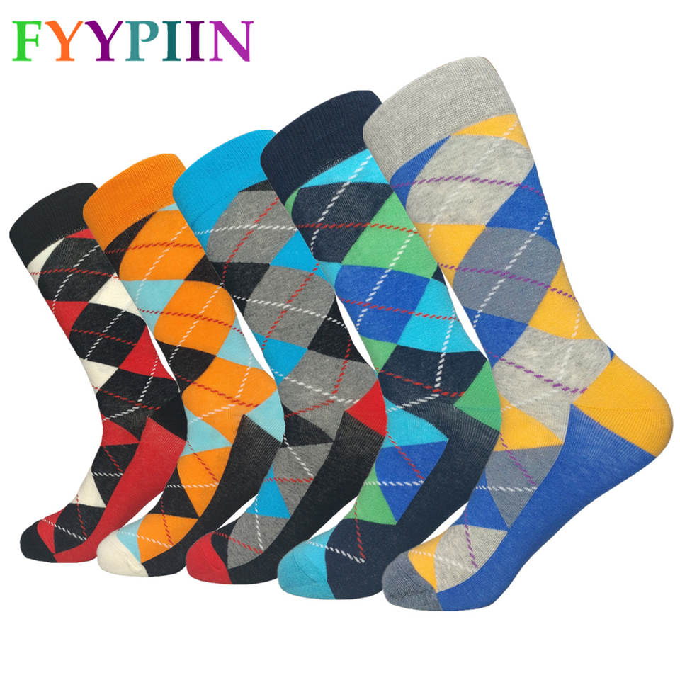 Colorful Socks Womens and Men, Trending, Cheap, Near me for Sale and Suits,  Colorful Ankle, Athletic, Argyle Socks, Brand New 100% (5 pairs) - SP22